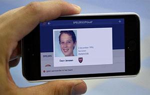 Zorg voor een correcte en herkenbare pasfoto op je spelerspas!