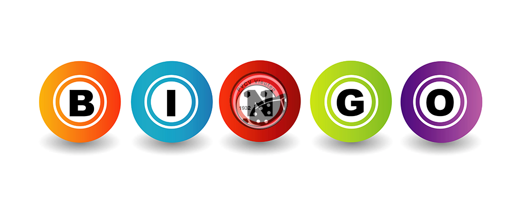 5 oktober eerste bingo avond  in de kantine!