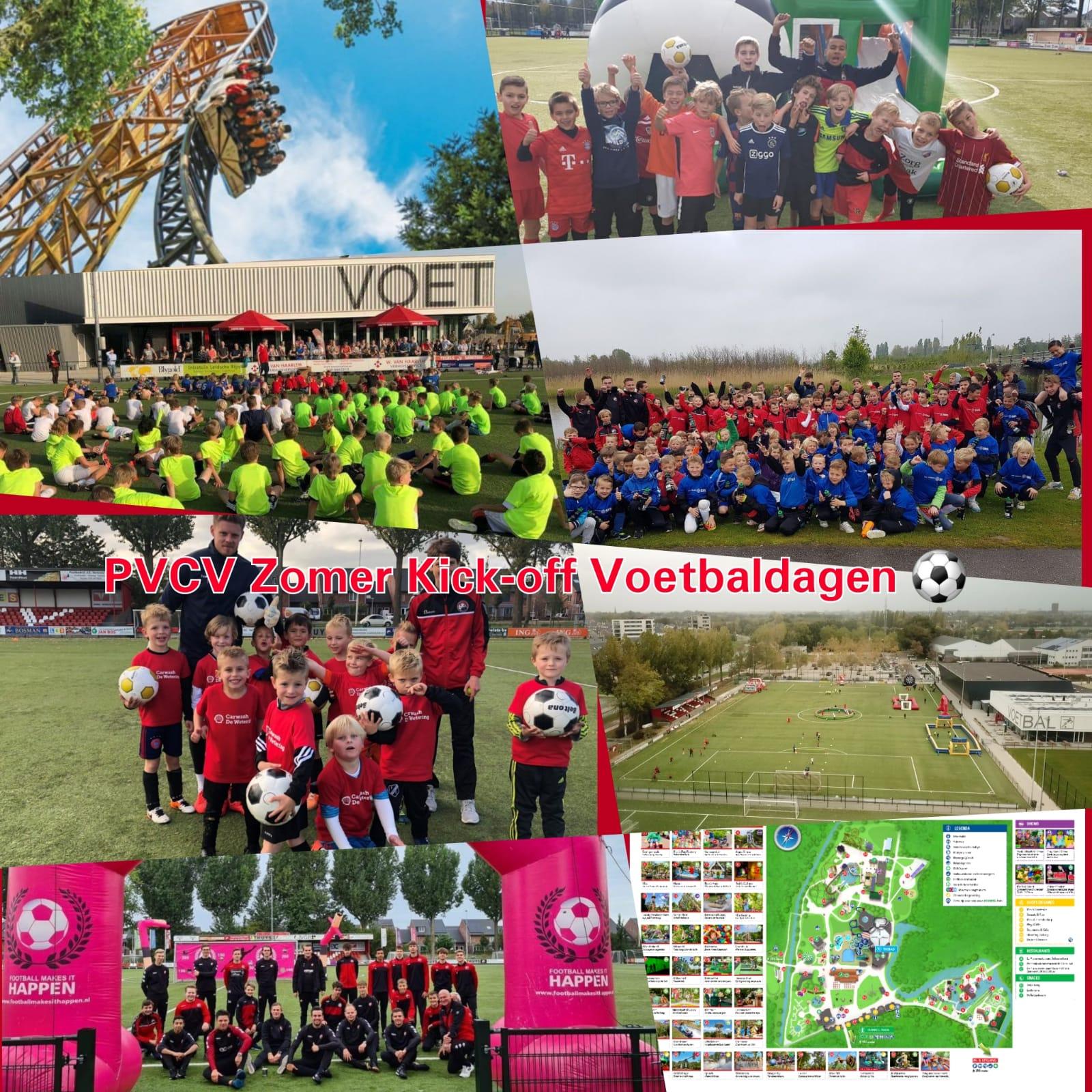 UPDATE: PVCV Zomer Kick-off Voetbaldagen op 23, 24 en 26 Augustus! Nog een paar plaatsen beschikbaar!