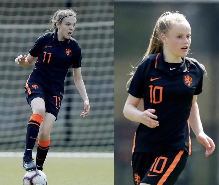 UPDATE: Lotte en Senne spelen hun eerste interlands voor Oranje O16!