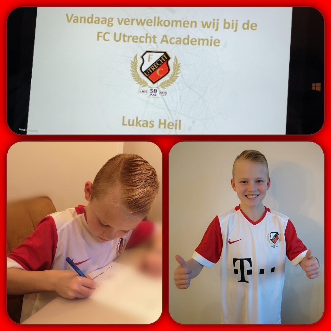Transfer Lukas Heil naar FC Utrecht
