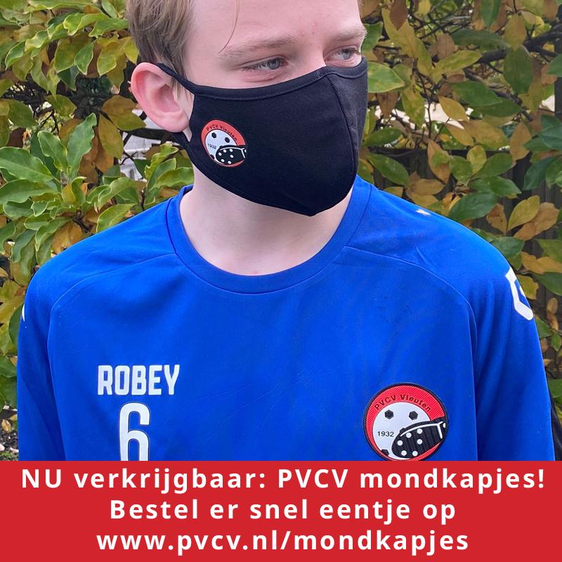 NU verkrijgbaar: PVCV mondkapjes!